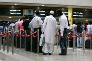 dubai passport control