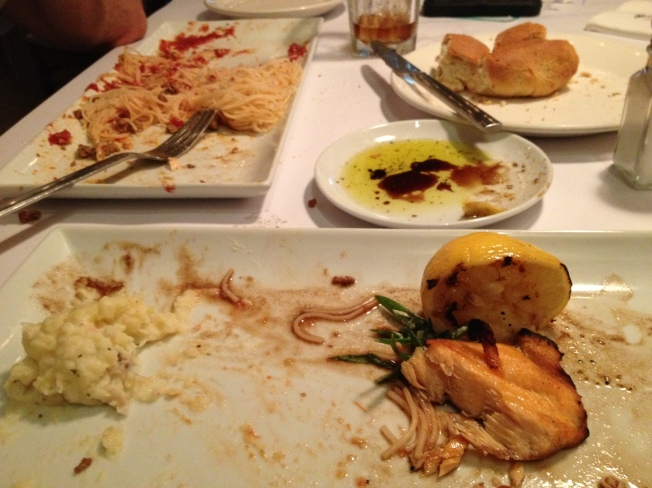 end of meal