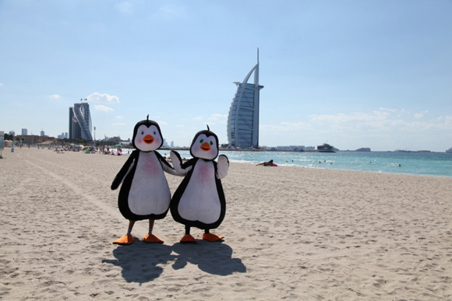 Penguins-at-Burj