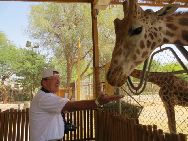 It's TBG, and he's gonna feed the giraffe???