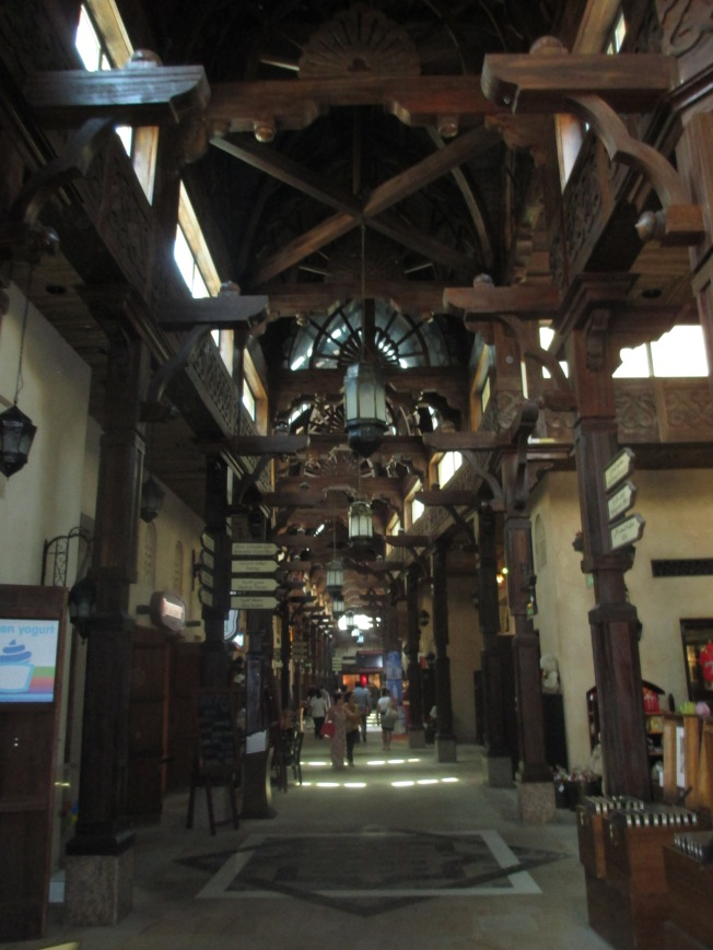 inside the dark cool souk.  And I've also noticed it spelled souq.