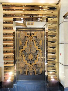 Gorgeous elevator doors.  Really!