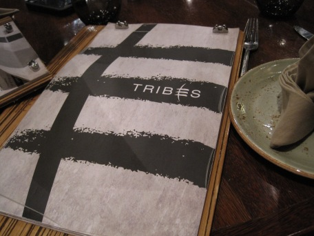 Even their menus are beautifully themed, aren't they?