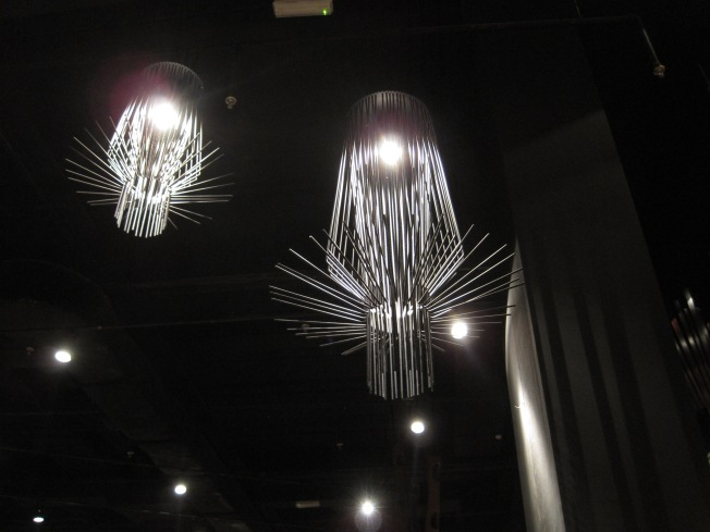 Pretty dang cool-looking chandeliers, huh?