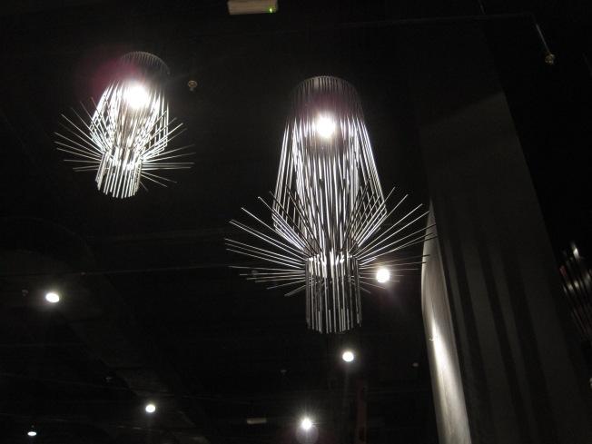 Pretty dang cool-looking chandeliers, huh?