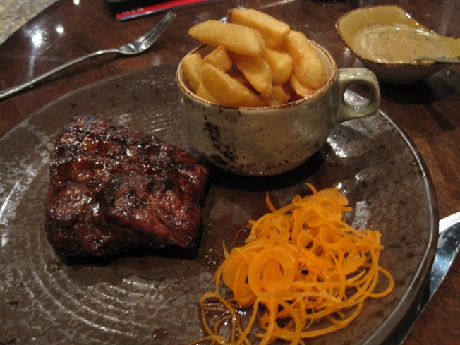 The attraction - red meat.  This place is for carnivores, for sure!